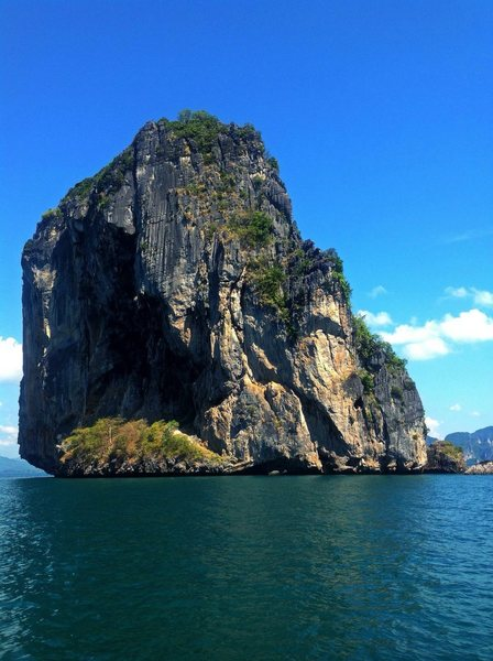 Rock Climbing Photo: Deep Water Soloing - Krabi