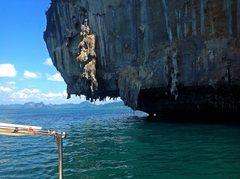 Rock Climbing Photo: Deep Water Soloing Krabi