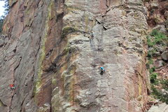 Rock Climbing Photo: The Bastille Crack and The West Buttress (from 5/2...