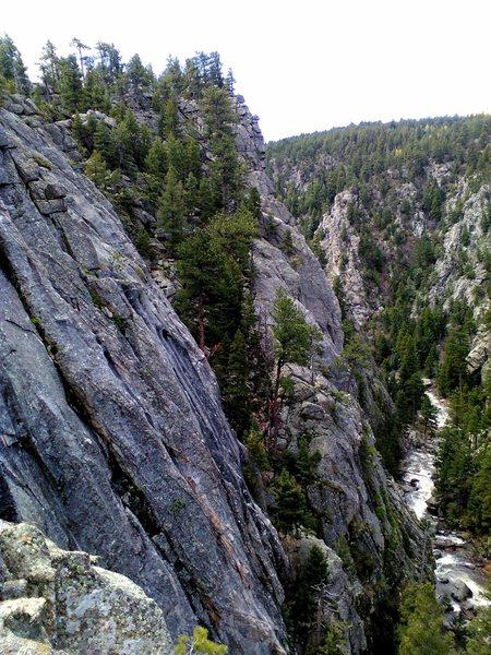 Rock Climbing Photo: Upper Dream Canyon