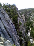 Rock Climbing Photo: Upper Dream Canyon