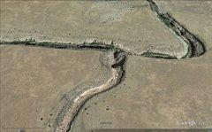 Rock Climbing Photo: Google Earth Image