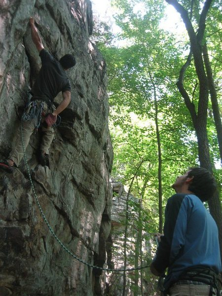 Foster Falls - the early days of my climbing career.