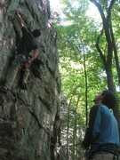Rock Climbing Photo: Foster Falls - the early days of my climbing caree...