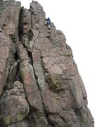 Rock Climbing Photo: My first visit to Colorado. Not sure why my local ...