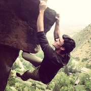 Rock Climbing Photo: Maybe if I squint harder I'll send it this time......
