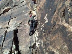 Rock Climbing Photo: Start of Hot Sauce