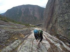 Rock Climbing Photo: Inside view.