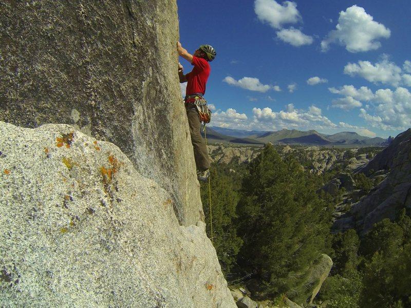 Rock Climbing Photo: Redtail, 5.11a