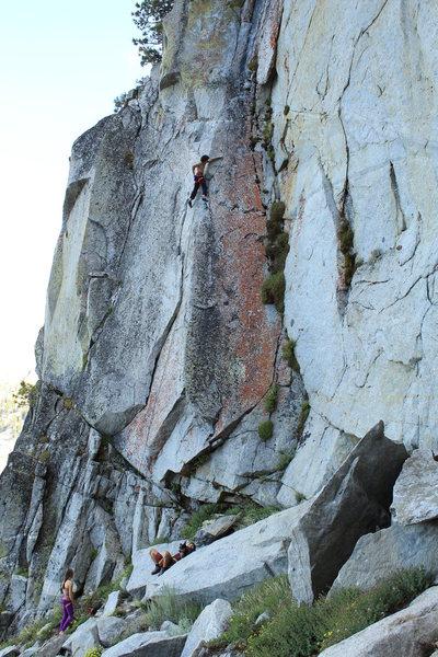 G. Traversi climbing