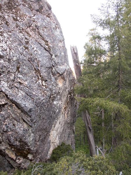 Rock Climbing Photo: Humbilly
