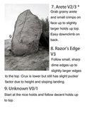 Rock Climbing Photo: Arete Boulder