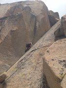 Rock Climbing Photo: Taking laps on it. Fun route