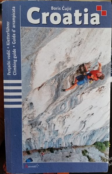 This is the most comprehensive Croatian Climbing guidebook.  It is in English, German, Italian, and Croatian (all in the same book) and has darn good descriptions of the climbing.  Because the routes are so packed together, a good guidebook is essential.