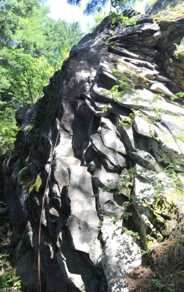 Rock Climbing Photo: Hanging Chad