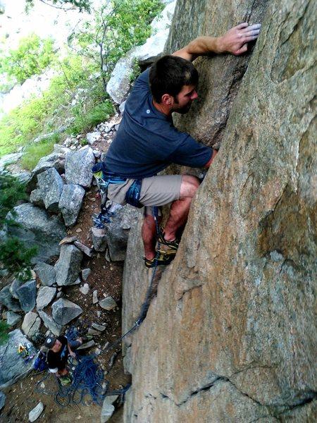 Rock Climbing Photo: Huston Crack, Cob Rock
