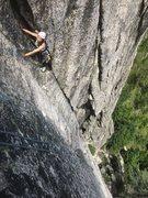 Rock Climbing Photo: Julie corner