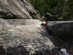 Rock Climbing Photo: How to do it if u have the right gear! Jules butte...