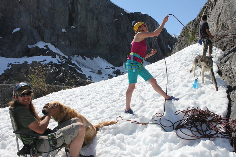 Rock Climbing Photo: Belay lesion 101