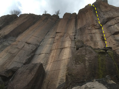 Rock Climbing Photo: The Main Giants, with the Beanstalk on the right.