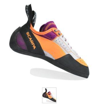 Rock Climbing Photo: Women's Scarpa climbing shoes - approx size 7