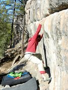 Rock Climbing Photo: David Bloom and The RR Wsll.