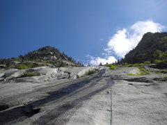 Rock Climbing Photo: Super slabbin