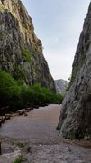 Rock Climbing Photo: The end of the road as seen from the base of Zuna