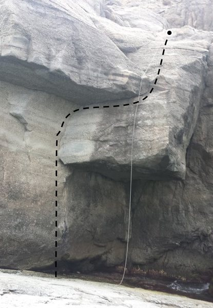 Rock Climbing Photo: Tachycardia 5.10d