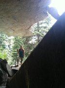 Rock Climbing Photo: J-Sexy entering La Casa de Trench Warfare!