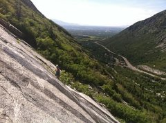 Rock Climbing Photo: Late May water skiing!
