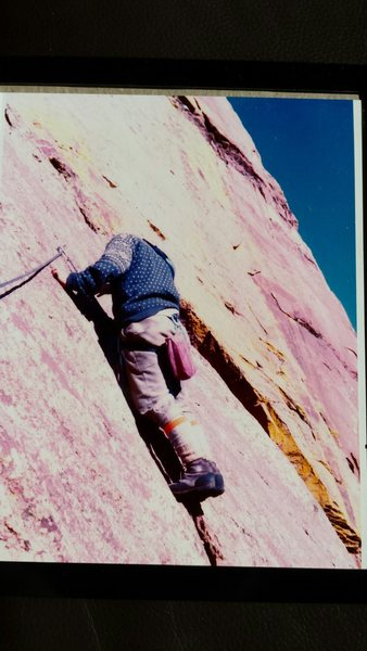 Rock Climbing Photo: Photo by Baker, 1973.