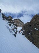 Rock Climbing Photo: FD crux, 5/31/15.