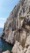 Rock Climbing Photo: There are two 5.8 and two 11+/12- routes that star...