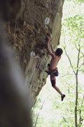 "Rock Climbing Photo: Jordan Fugitt on ""Trail of Tears"""