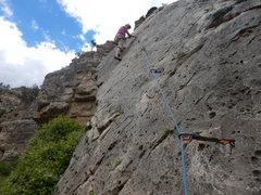 Rock Climbing Photo: I KNOW I CAN