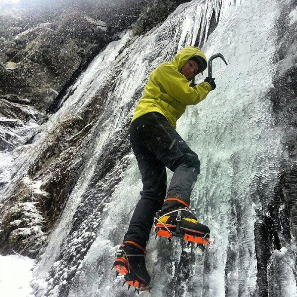 Ice Climbing Adirondacks