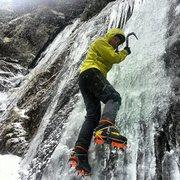 Rock Climbing Photo: Ice Climbing Adirondacks
