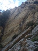 Rock Climbing Photo: Rapping pitch 2