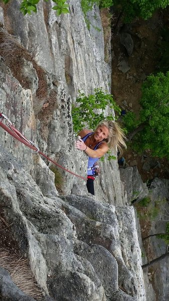 Rock Climbing Photo: Higher stannard?
