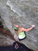 Rock Climbing Photo: Hope Chipman on Biscuit.