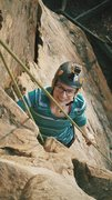 Rock Climbing Photo: First ever outdoor climb: New River Gorge, West Vi...