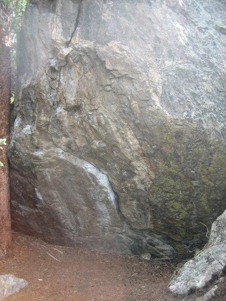 The Fridge Boulder.