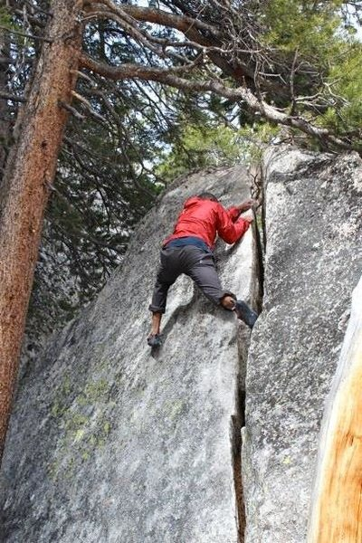 Dom Barry from Lake Tahoe working problem B.