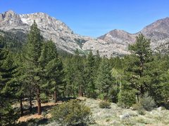 Rock Climbing Photo: Beautiful views west towards Horsetail Falls from ...