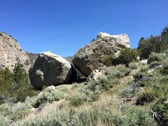 Rock Climbing Photo: Sasquatch Boulder and Wasted Boulder