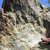 Gigantopithecus Boulder east face Topo