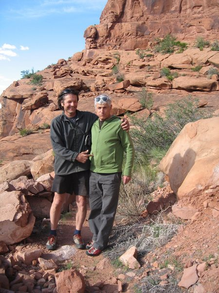 Rock Climbing Photo: Texas Tower Tim Toula and I wondering if we have b...