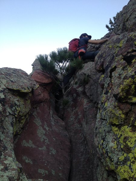 Rock Climbing Photo: Fun, interesting terrain.