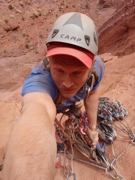 Rock Climbing Photo: On Durin's Bane